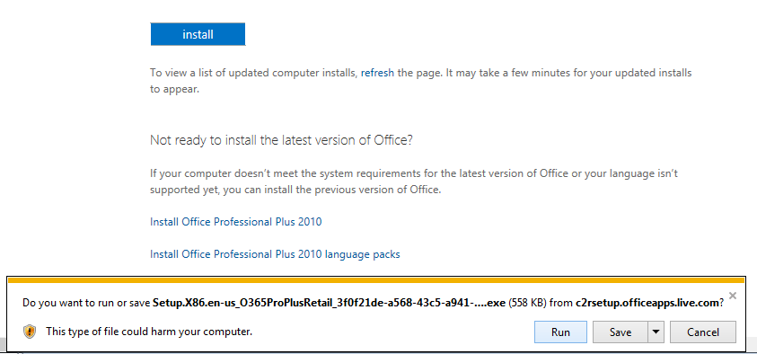 Install office on your pc with office 365 sidmouth - You cannot install the 32 bit version of office 2010 ...