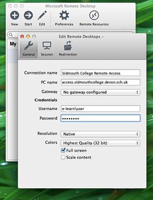 Windows remote desktop for mac beta